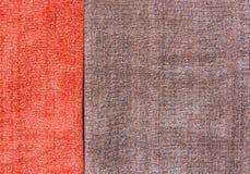 Coloré du fil en soie cru pour le fond Photos stock