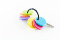 Coloré du keycover de cilicone Images libres de droits