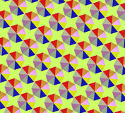 Coloré du parapluie Photos libres de droits