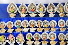 Coloré handcraft fait par la coquille de conque Images libres de droits
