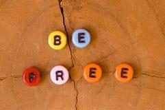 Coloré soyez gratuit Photos libres de droits