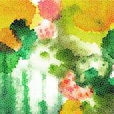 Coloré tiré par la main de fond abstrait de vecteur Images stock