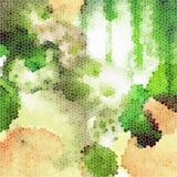 Coloré tiré par la main de fond abstrait de vecteur Photos libres de droits
