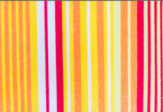 Coloré vertical de la serviette Images stock