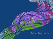 Colorés abstraits modèle de schéma Image libre de droits