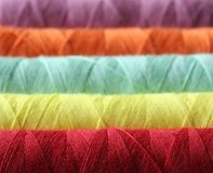 Color. Ful threads Royalty Free Stock Images