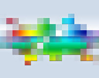 Color abstract. Abstract illustration of mosaic of colors royalty free illustration