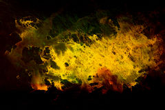 Color abstract background. Fire structure. Computer collage. Stock Image