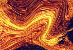 Color abstract background. Lava structure. Computer collage. Earth Concept. Royalty Free Stock Images