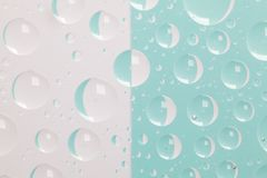 Abstract background with water drops Royalty Free Stock Photography