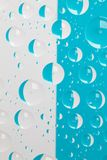 Abstract background with water drops. Color abstract background with raindrops stock illustration