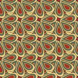 Color abstract geometric seamless pattern quality vector illustration for your design Stock Image