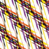 Color abstract geometric seamless pattern quality vector illustration for your design Royalty Free Stock Image