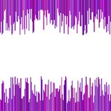Color abstract geometrical background from vertical stripes in purple tones. Vector design Royalty Free Stock Images