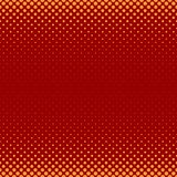 Color abstract halftone dot pattern background - vector designfrom circles in varying sizes Stock Photography