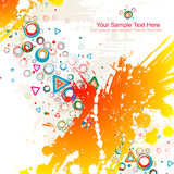 Color abstract illustration. Royalty Free Stock Photography