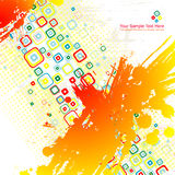 Color abstract illustration. Royalty Free Stock Photo