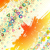 Color abstract illustration. Royalty Free Stock Images