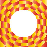 Color abstract radial background with placeholder Stock Image