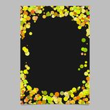 Color abstract random dot pattern card background   Stock Images
