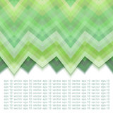 Color Abstract Retro Vector Background. Green Abstract Retro Vector Background, Fashion Zigzag Patterns of Green Stripes Stock Photography