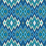 Color Abstract Retro Zigzag Vector Background Stock Photo