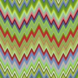 Color Abstract Retro Zigzag Vector Background Royalty Free Stock Images