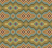 Color Abstract Retro Zigzag Vector Background Royalty Free Stock Image