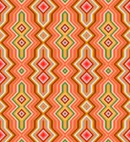 Color Abstract Retro Zigzag Vector Background Stock Image
