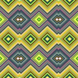Color Abstract Retro Zigzag Vector Background Stock Photography