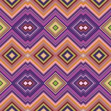 Color Abstract Retro Zigzag Vector Background Royalty Free Stock Photography