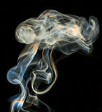 Color abstract smoke Stock Photo