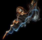 Color abstract smoke Royalty Free Stock Photos