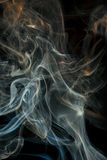 Color abstract smoke Stock Images
