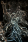 Color abstract smoke Stock Photos