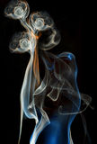 Color abstract smoke Royalty Free Stock Images