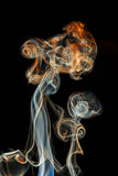 Color abstract smoke Royalty Free Stock Image