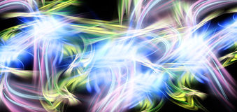 Color abstract speed flows Stock Image