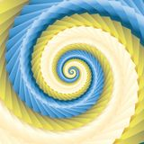 Color abstract spirals Royalty Free Stock Photo