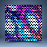 Color mosaic vector abstract background Royalty Free Stock Images
