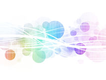 Color abstract texture. With coloring cycles,place for text Royalty Free Stock Image