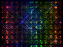Color abstract wallpaper. Holes with brush effects and streaks of different colored lights give a look of a curtained color light show in this abstract backdrop Stock Photo