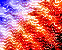 Color Abstract Wave Background Stock Image