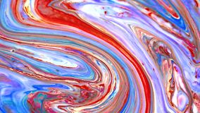 Color abstraction of paint stock video footage