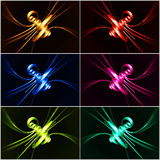 Color abstractions Royalty Free Stock Photos
