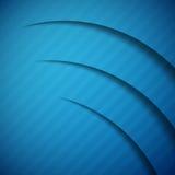 Color abstracto del azul del fondo 3D Foto de archivo libre de regalías