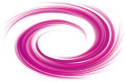 Color abstracto del carmesí del fondo del espiral del vector