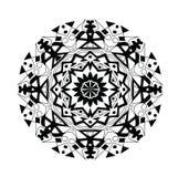 Color abstracto del negro del modelo Foto de archivo libre de regalías