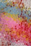 Color abstracto y vidrio Foto de archivo libre de regalías