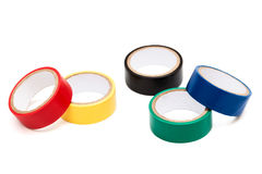 Color adhesive tape Royalty Free Stock Photography